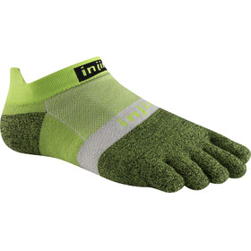 Injinji Run LW No Show Xtralife Socks Chive